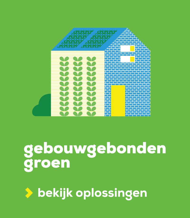 Banner gebouwgebondengroen woningcorporatie