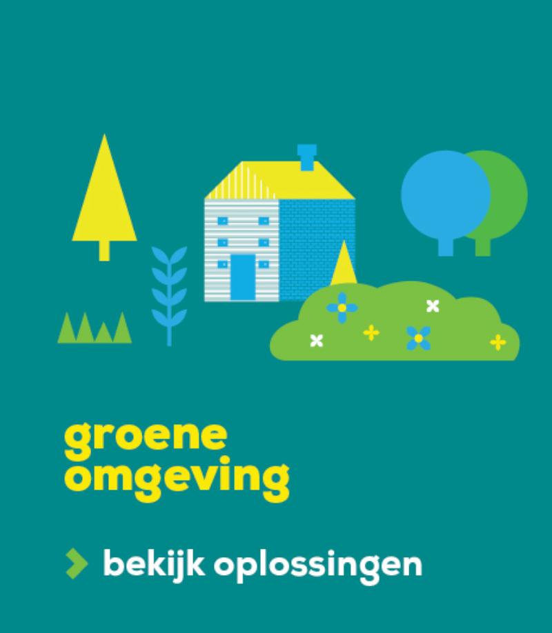 Banner groenomgeving